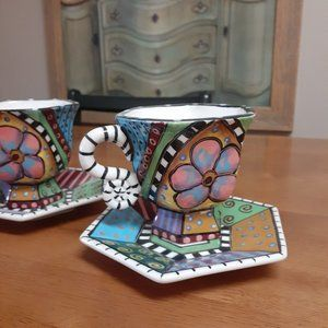 CUP & SAUCER: Not for you if you won't love them!